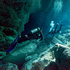 cenote diving 240